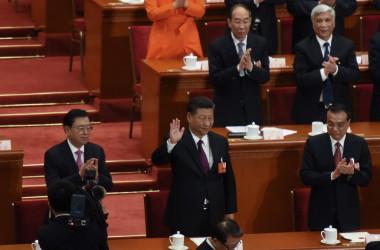 中国は今でも共産党一党独裁国家である(Photo by Etienne Oliveau/Getty Images)