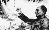 毛澤東「権力は銃口から生まれる」(イラスト=大紀元)