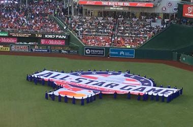 2018年の米MLBオールスターゲーム(宋昇樺/大紀元)