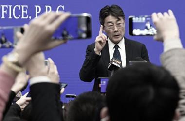 中国疾病予防管理センター(CDC)のトップである高福主任(NOEL CELIS/AFP via Getty Images)