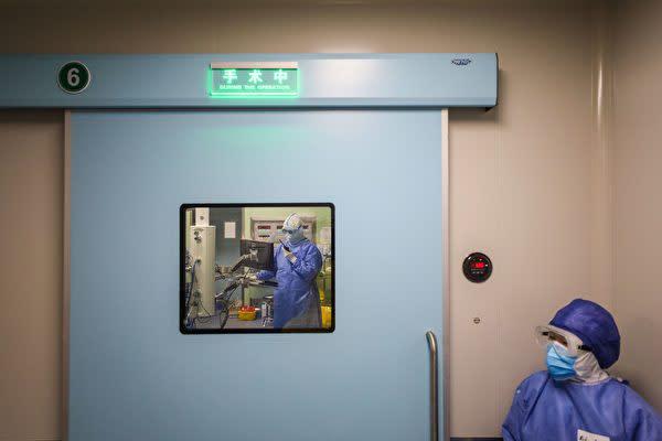 中国国内の病院の手術室、参考写真(Getty Images)