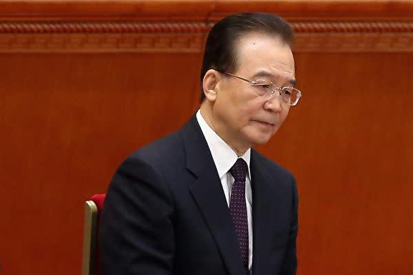 中国の温家宝前首相(Feng Li/Getty Images)