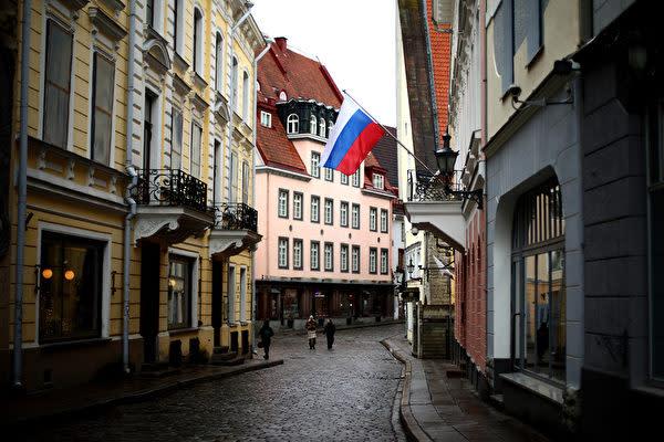 写真は、エストニアの首都タリン(Jordan Mansfield/Getty Images)