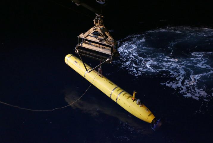 在米中国人男性は28日、米国の海洋技術を中国に密輸した疑いで起訴されている。写真は水中ドローン、イメージ写真(LSIS Bradley Darvill/Australia Department of Defence via Getty Images)