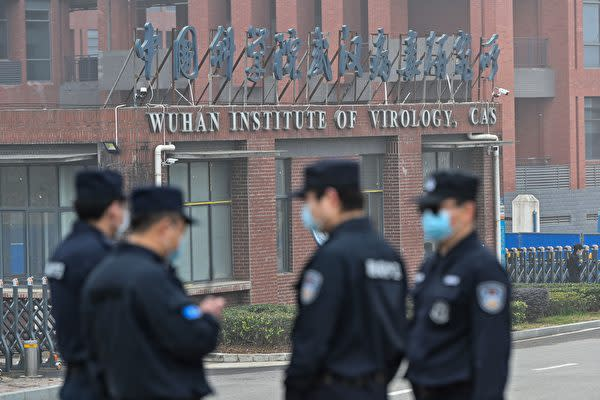 中国の武漢ウイルス研究所(Wuhan Institute of Virology)(HECTOR RETAMAL/AFP via Getty Images)