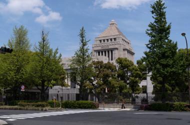 改正少年法では、厳罰化の傾向が見られた。写真は国会議事堂(Photo by Tomohiro Ohsumi/Getty Images)