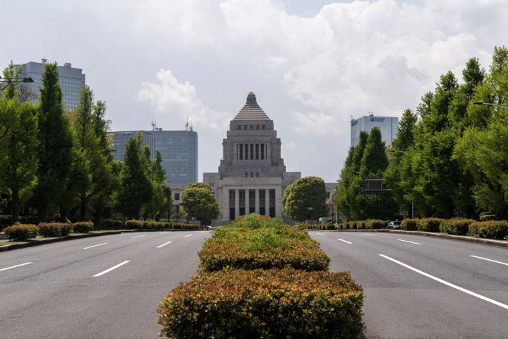 人権問題で国会は大きな選択を迫られている。(Photo by Tomohiro Ohsumi/Getty Images)