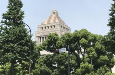 6月8日の衆議院本会議で、ミャンマー人権決議案が採択された(王文亮/大紀元)