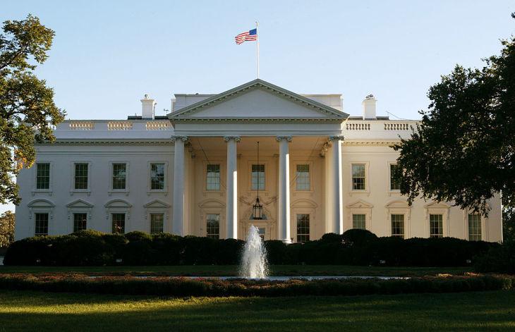 ワシントンにあるホワイトハウス(Photo by Alex Wong/Getty Images)