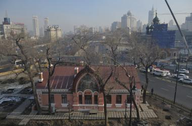 ハルビン市内。参考写真(Tao Zhang/Getty Images)