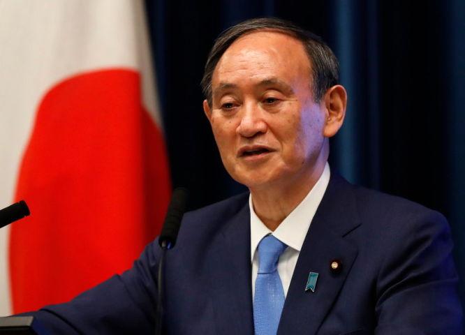 菅義偉首相(Photo by Issei Kato - Pool/Getty Images)