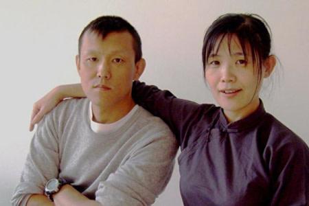法輪功学習者・于宙さんと妻の許那さん(明慧ネット)