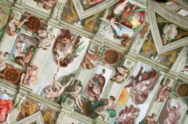 システィーナ礼拝堂の天井画はミケランジェロにとって試練だった(パプリックドメイン)