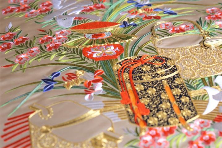興福院掛袱紗(こんぶいんかけふくさ)(写真:清雲/大紀元)