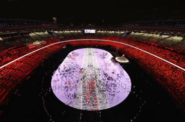 2021年7月23日、東京オリンピック開会式が行われた(Photo by Richard Heathcote/Getty Images)