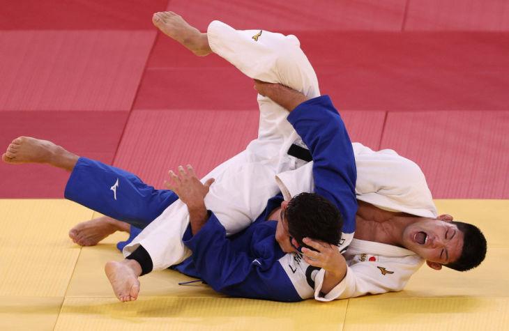 柔道男子73キロ級で優勝した大野将平選手(Photo by Harry How/Getty Images)