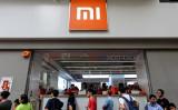 中国スマホ大手のシャオミの専門店( VIVEK PRAKASH/AFP via Getty Images)