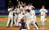 侍ジャパンは悲願の五輪金メダルを獲得した(Photo by Yuichi Masuda/Getty Images)