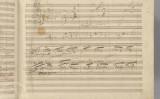 ベートーヴェン交響曲第9番の自筆譜(パブリックドメイン)