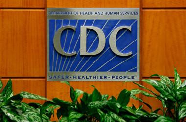 米疾病対策センター(CDC)のロゴ(Kevin C. Cox/Getty Images)