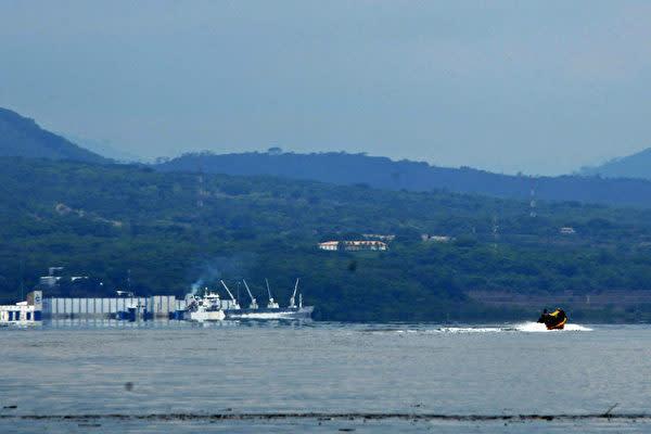 エルサルバドルのラ・ウニオン港 (Photo credit should read ORLANDO SIERRA/AFP via Getty Images)