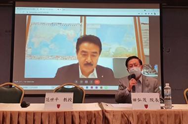2021年9月8日、佐藤正久参議院議員は台湾国策研究院の台日関係座談会にオンライン形式で参加した(呉旻洲/大紀元)