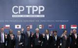 CPTPP加盟国の代表 (CLAUDIO REYES/AFP via Getty Images)