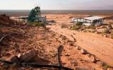 南アフリカのあるレアアース鉱山(RODGER BOSCH/AFP via Getty Images)