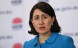 10月1日辞職を発表した豪ニューサウスウェールズ州のグラディス・ベレジクリアン州知事(Bianca De Marchi-Pool/Getty Images)