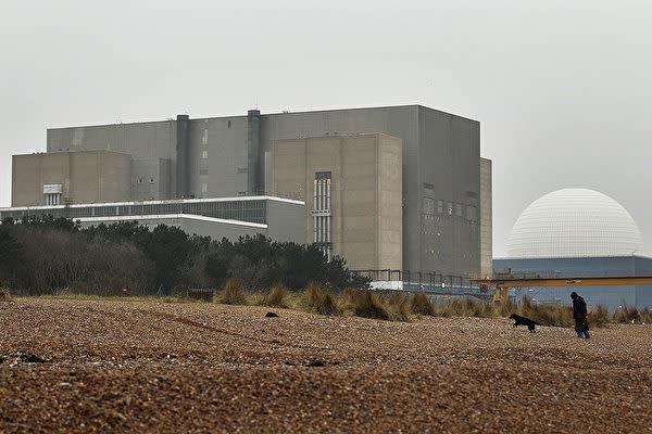 英国のサイズウェルB原子力発電所(Oli Scarff/Getty Images)