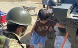 4日から、陸上自衛隊は和歌山市の中小学校などで給水支援活動を行っている。(防衛省・自衛隊(災害対策)@ModJapan_saigaiより)