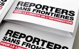 2018年4月25日、「国境なき記者団」(RSF、本部パリ)は2018年の世界各国の報道自由度ランキングを発表した  (BERTRAND GUAY/AFP via Getty Images)