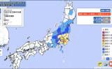 7日22時41分ごろ、千葉県北西部を震源とする最大震度5強の地震が発生した(気象庁地震情報)