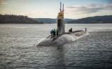 シーウルフ級攻撃型原子力潜水艦「コネチカット」(米海軍提供)