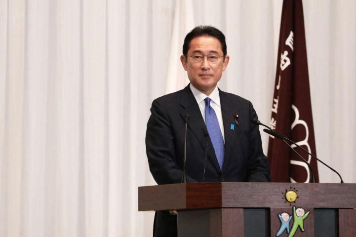 岸田文雄総理大臣 (Photo by DU XIAOYI/POOL/AFP via Getty Images)