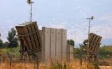 レバノンに配備された防空迎撃システム「アイアンドーム」、参考写真(Photo by JALAA MAREY/AFP via Getty Images)