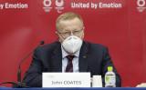 国際オリンピック委員会(IOC)副会長のジョン・コーツ氏(Rodrigo Reyes Marin-Pool/Getty Images)