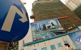 債務不履行多発の中国不動産開発業界、氷河期を迎えるか(MARK RALSTON/AFP/Getty Images)
