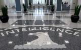 米中央情報局(CIA)本部ロビー(SAUL LOEB/AFP/Getty Images)